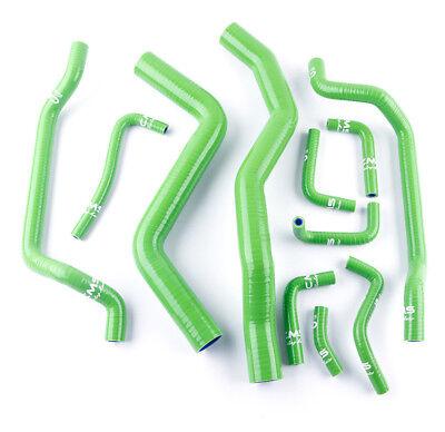 Coolant Silicone Radiator Hose Kit Clamps For MITSUBISHI ECLIPSE DSM 4G63T 2G 1995 1996 1997 1998 1999 Black