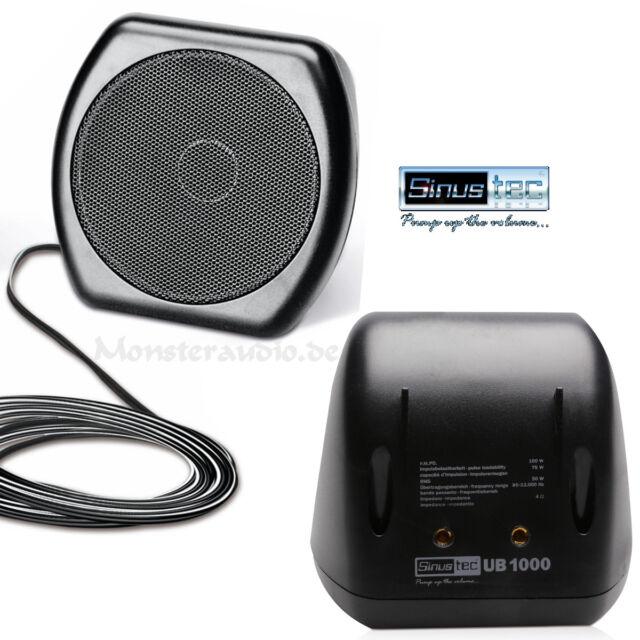 Sinustec UB1000 Aufbaulautsprecher Lautsprecher Boxen Auto Wohnmobil PKW LKW Bus