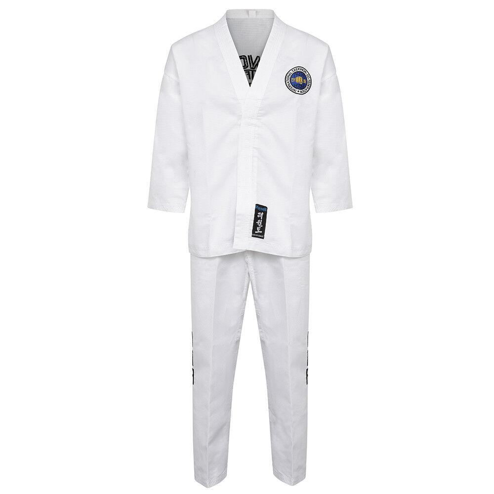 Itf Taekwondo Diamond Elite Studenti Fighter Uniforme Tute Gi Allenamento Dobok
