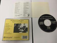 Pete Brown & Phil Ryan : Coals to Jerusalem CD ORIGINAL VOICEPRINT 1992 CD