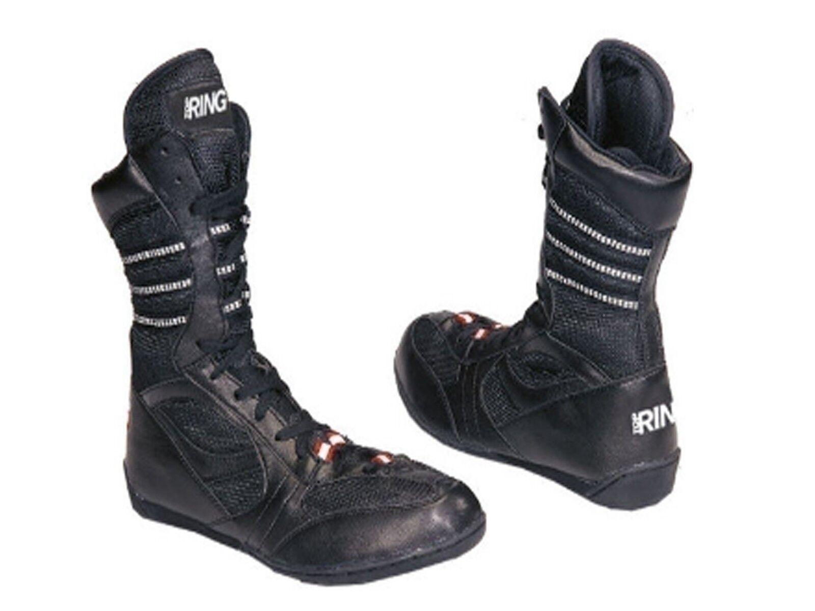Schuhe  TOP RING  226 S STIVALETTI BOXE NERO