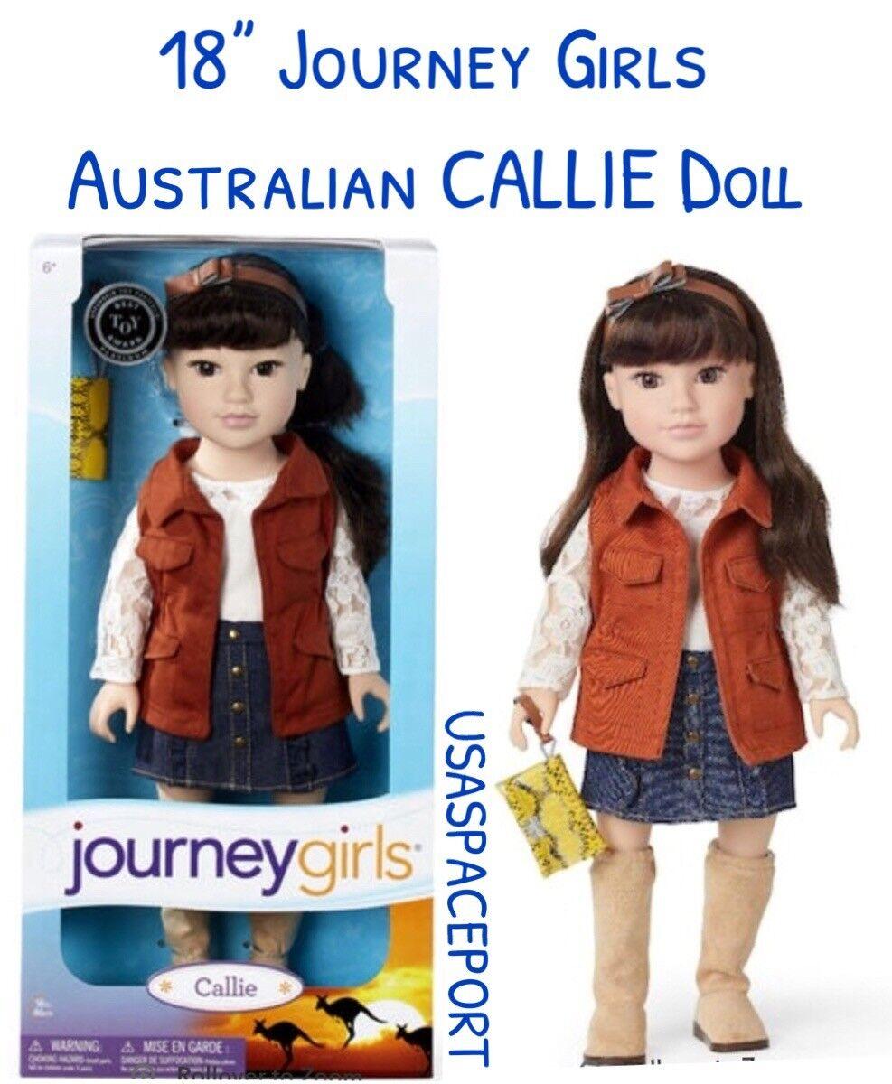 18-in Journey Girls Australia CALLIE DOLL Brunette Australian Exclusive Retirot