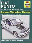 Fiat Punto Petrol Service and Repair Manual: 1999-2007 by R. M. Jex, John S. Mead (Hardback, 2013)