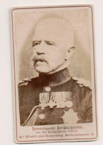 Vintage-CDV-Adolf-von-Bonin-Prussian-General