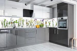 Details zu Küchenrückwand KRÄUTER SP688 Premium AcrylGlas Fugenlos Küche  Spritzschutz