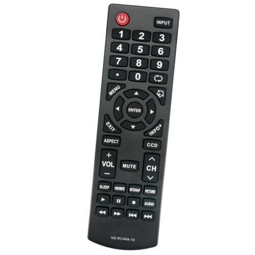NS-RC4NA-14 Remote Control TV Controller For Most 2013//14 Insignia LCD LED TV