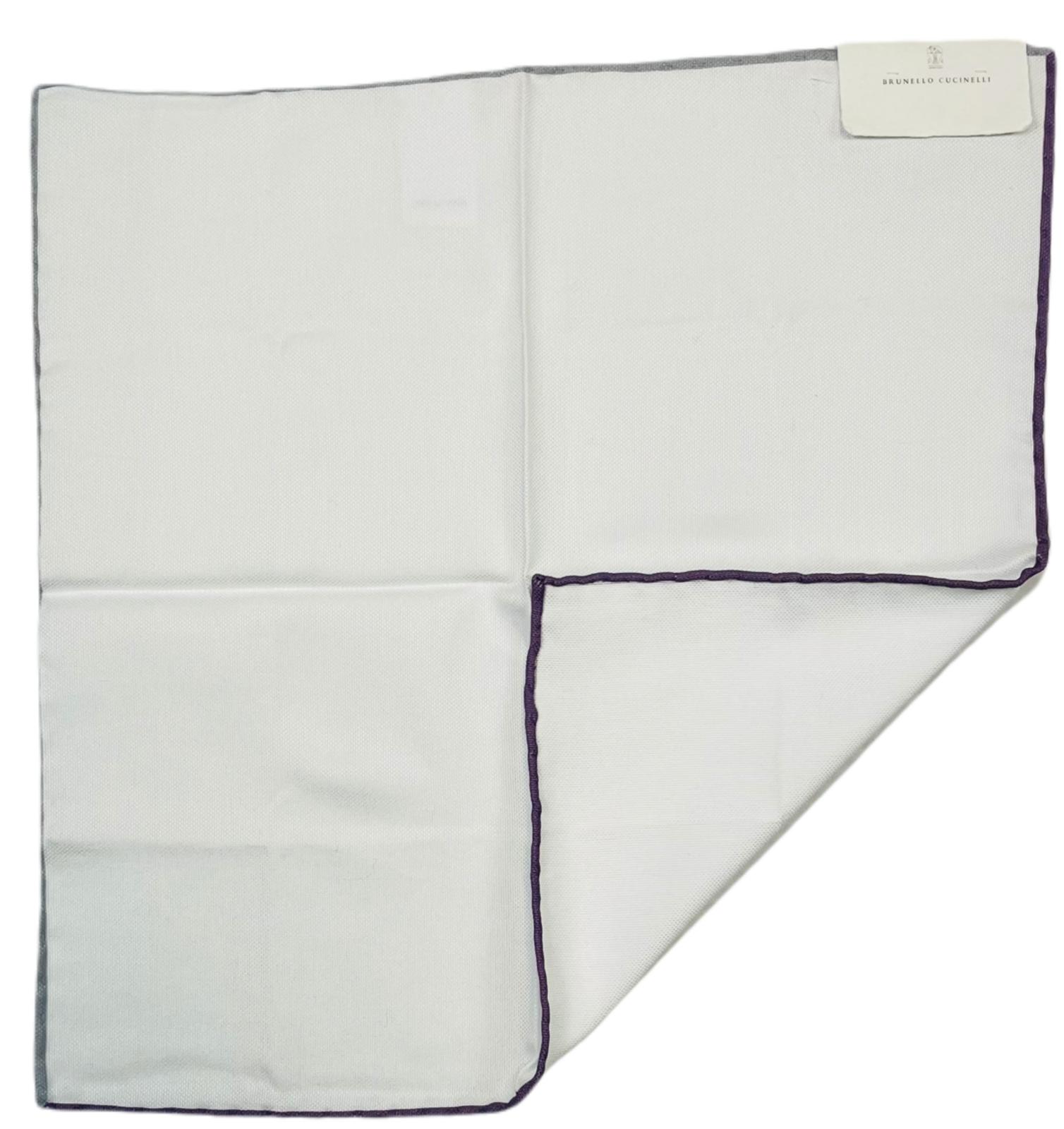 Brunello Cucinelli Handkerchief Pocket Cloth Pochette Square Neckcloth