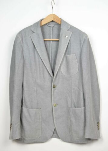 Giacca Taglia b Jacket m Lana Grigio 1911 L 46 Chiaro Lubiam frFwHfq