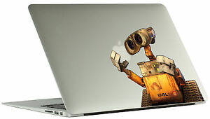 Wall-e color Macbook decals, wall-e stickers, Macbook protection ...