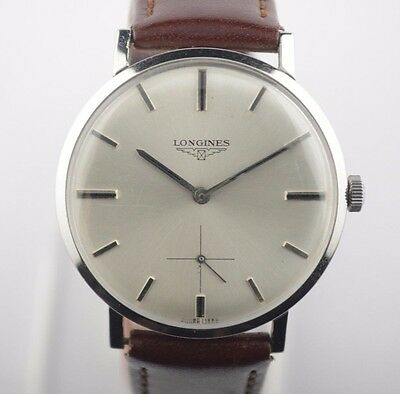 Rare Vintage 1950's Collectible Oversized Longines Watch 30L Mint