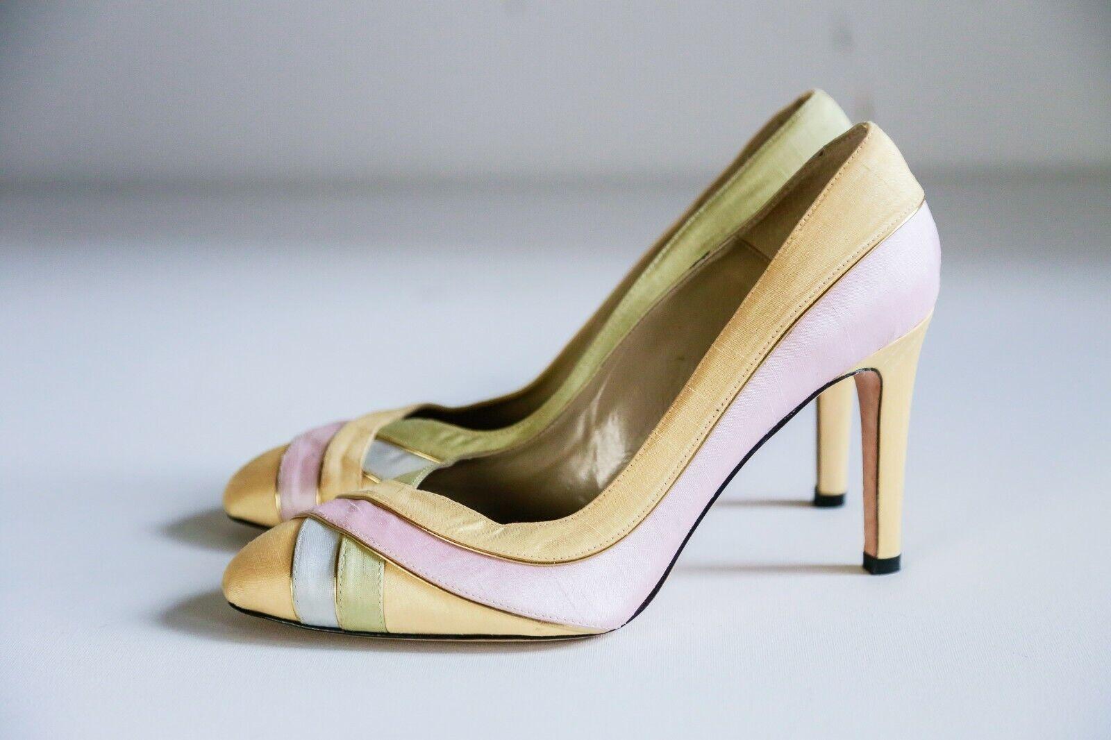 J Renee Multicolour Multicolour Multicolour Pastel Wedding High Heel schuhe   Leather Sole Wedding Pumps a1085d