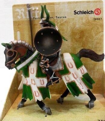 Bello Schleich 70047 Cavaliere Del Toro Al Torneo Mondo Dei Medioevali 15,2x6,8x14,6 H