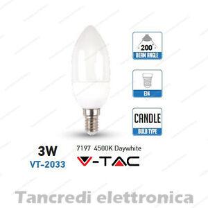 Lampadina-led-V-TAC-3W-25W-E14-bianco-naturale-4500K-VT-2033-candela-smd-VTAC