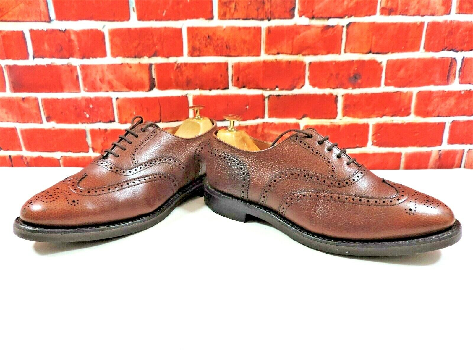 Church's Brogues Dainite Soles US 8 Minor use only Full Grain Calf