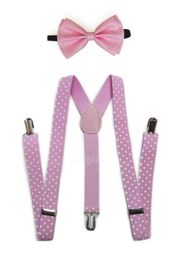 30 Selections Suspender and Bow Tie Set for Adults Men Women Teens USA Seller