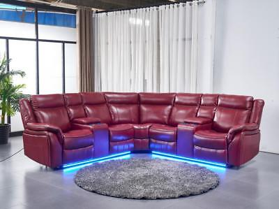 3pc Reclining Sectional Sofa