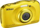 Nikon COOLPIX S33 13.2MP Digital Camera - White