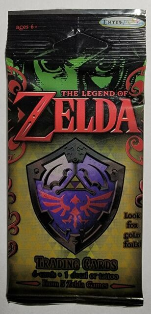 The Legend of Zelda Trading Card Game One Pack -Green-