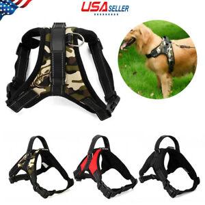 No-Pull-Adjustable-Dog-Pet-Vest-Harness-Quality-Nylon-Small-Medium-Large-XL-XXL