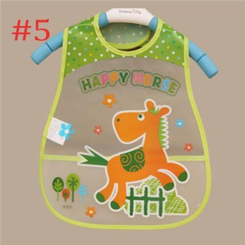 Baby Bibs Waterproof Bib Bandanna Saliva Towel Infant Burp Cloths Feeding