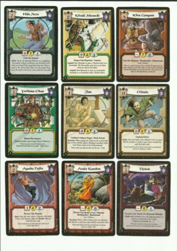 Uncommons Fire /& Shadow F/&S L5R CCG Legend of the Five Rings