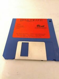 Life-amp-Death-3-5-039-039-Floppy-Disk-Apple-IIgs-Macintosh-Fast-Shipping