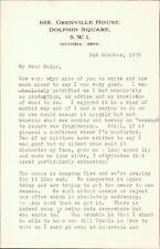 Betsy, 608 Grenville House, Dolphin Square - Margaret Agutter, 1956   QR496