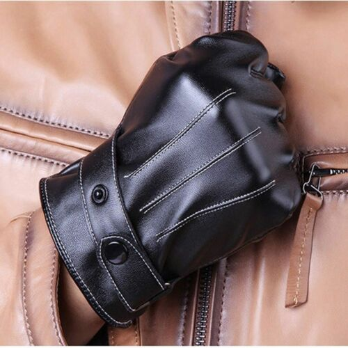 Man Full Finger Cycling Beautiful Motorcycle Men Screen Touch Leather Gloves