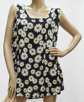 Tupfen Gozzip Longshirt Tunika Kleid Viskose schwarz orange Streifen 42-56