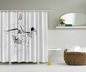 Image Is Loading Lady In A Tub Digital Print Shower Curtain