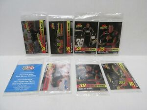 Tornados Racing Promotional Nascar 8 Card Pack Lot cs249