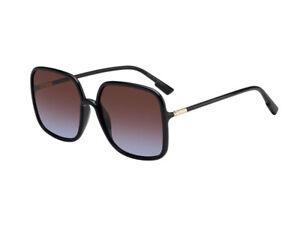 Occhiali-Sole-Dior-Autentici-SOSTELLAIRE1-807-YB-nero-marrone-gradient