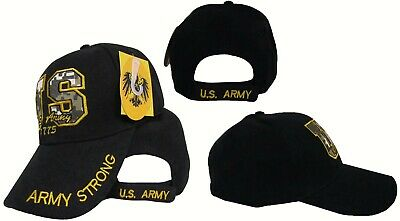 Embroidered with USA Patch RUF US Army Strong Army of One Star Green Hat Cap