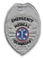 thumbnail 3 - EMT Emergency Medical Technician Generic Badge Patch Gold or Silver Color