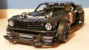 FORD-MUSTANG-MONSTER-HOONIGAN-100-LEGO-TECHNIC-Compatibile-NUOVO