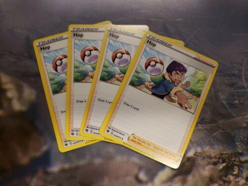 053//073 Playset Pokemon Champion/'s Path NM 4 x Hop