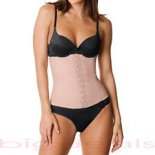 607c3f5f56 Faja Latex Waist Cincher Brazilian Body Shaper Belt Tummy Nude Firm Control  404