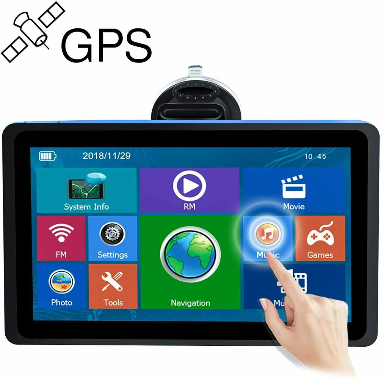 Rand Mcnally Rvnd 7730 Rv 7 Inch Touchscreen Gps Navigation System With Wi Fi For Sale Online Ebay