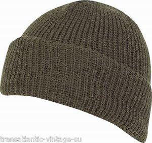 WINTER WARM ACRYLIC BOB HAT US MILITARY WATCH CAP OUTDOOR ARMY ... 1c453225306