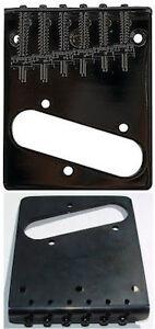 à Condition De Guitar Parts Telecaster Pont Haut & Bas Charge-noir-afficher Le Titre D'origine Et Aide à La Digestion