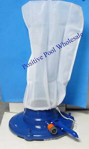 Pool Vacuum Cleaner Leaf Eater With Bag Hose Suction