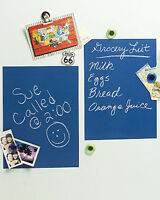 Blueprint Blue Chalkboard - 2 Sheet Vinyl Peel and Stick