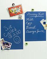 Boys Blue Chalkboard Peel N Stick Walls Door Message Board Chalk Decor Sticker