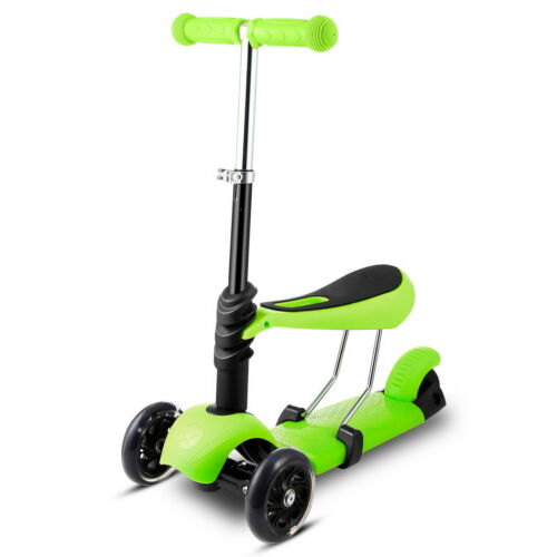 Kinderroller 3 Räder Faltbar Kinderscooter Jungen und Mädchen für Kinder
