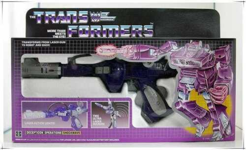 Transformers G1 Shockwave reissue brand new Gift
