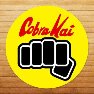 Funny-Cobra-Kai-Punch-No-Mercy-Karate-Kid-Car-Window-Wall-Die-Cut-Decal-Sticker