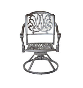 Outdoor-dining-chairs-patio-seat-swivel-rocker-cast-aluminum-Elisabeth-furniture