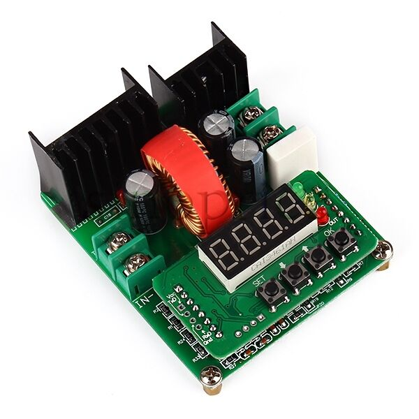 DC 6-40V Input 0-6A Constant Current Voltage Step-down Digital-controlled Module