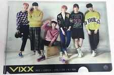 VIXX Photo Clear File  L Folder A4 Document Holder  KPOP Gift back to school