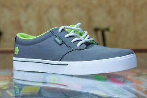 Etnies Kids Jameson 2 Shoes UK 5 - Dark Grey/Green